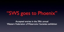 Western Federation of Watercolor Societies Show