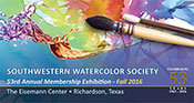 Southwestern Watercolor Society 53rd Annual Member's Show Reception