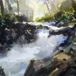 Watercolor 3 by Richard Stephens